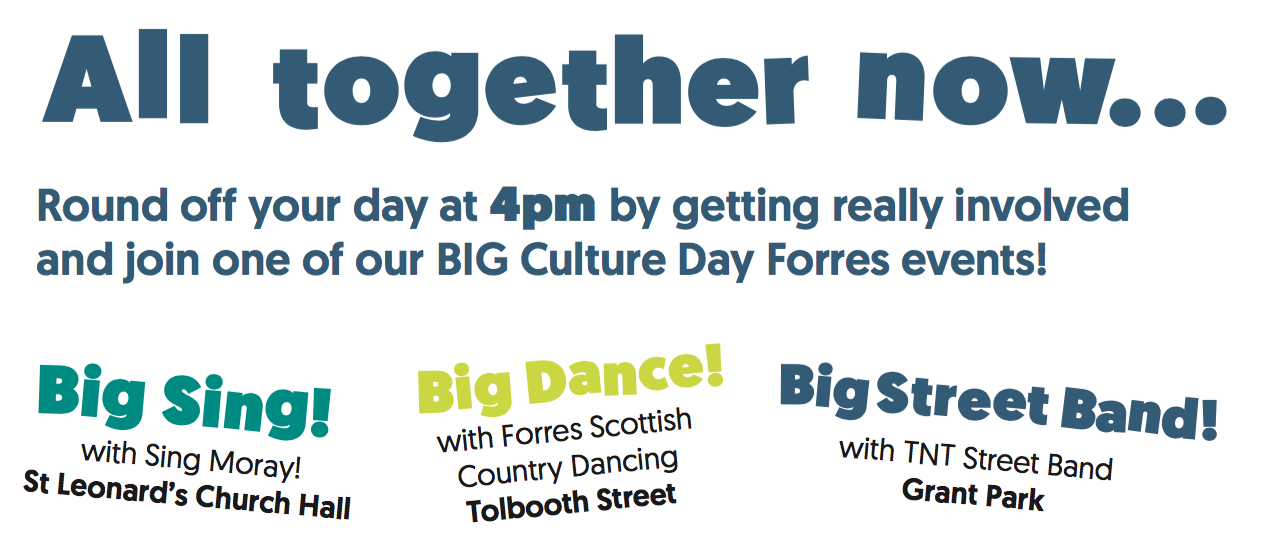 Big Culture Day events at 4pm